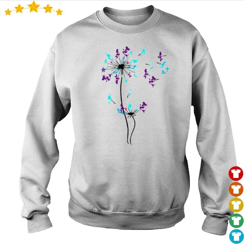 Mermaid dandelion cartoon s sweater
