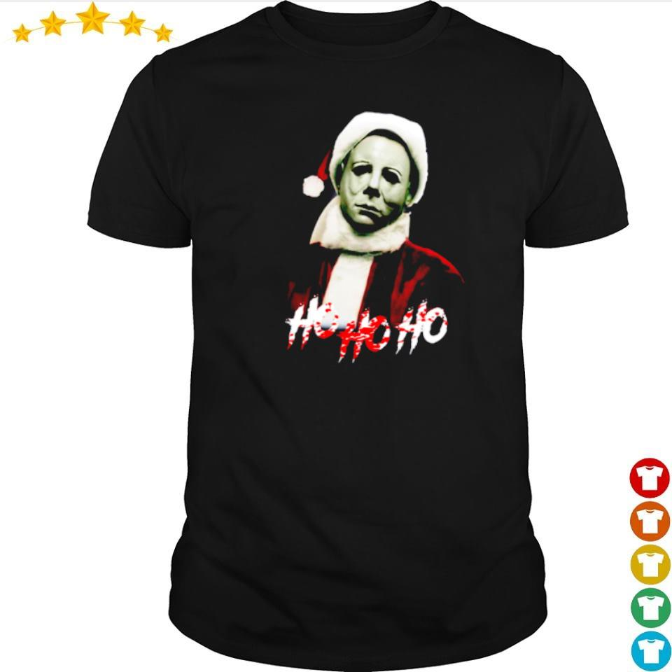 Michael Myers Santa Claus ho ho ho shirt