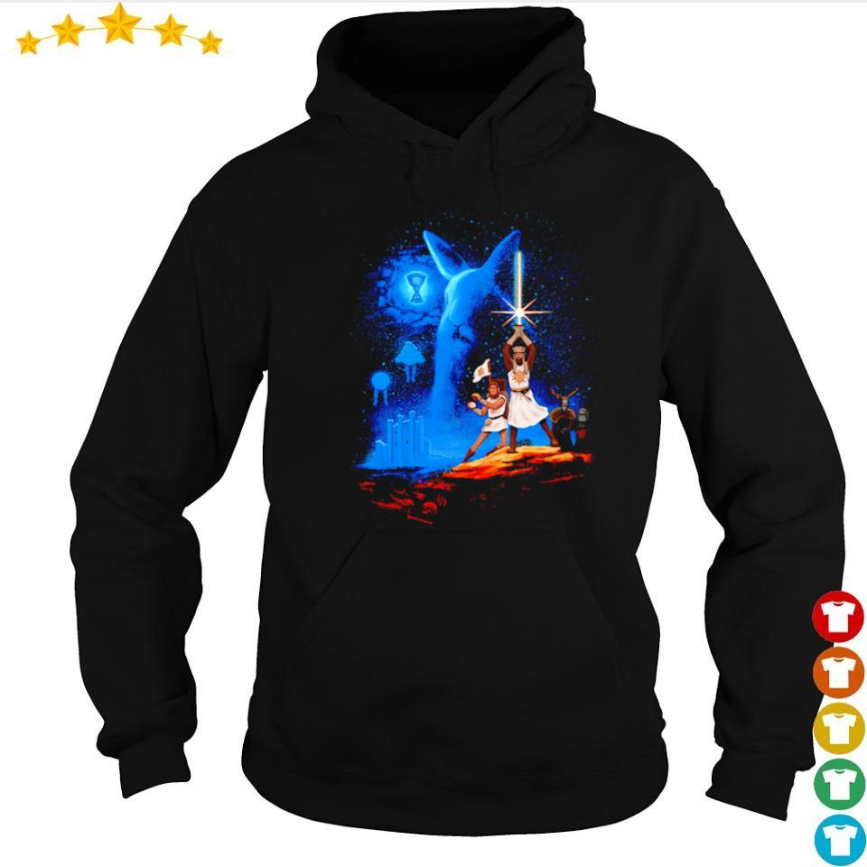 Monty Python and the Holy Grail Grail Wars Starwar s hoodie