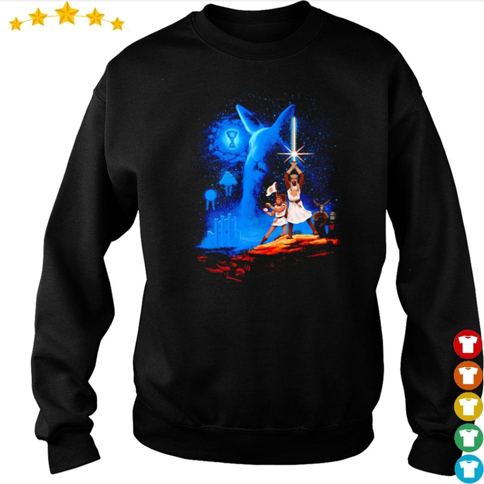 Monty Python and the Holy Grail Grail Wars Starwar s sweater