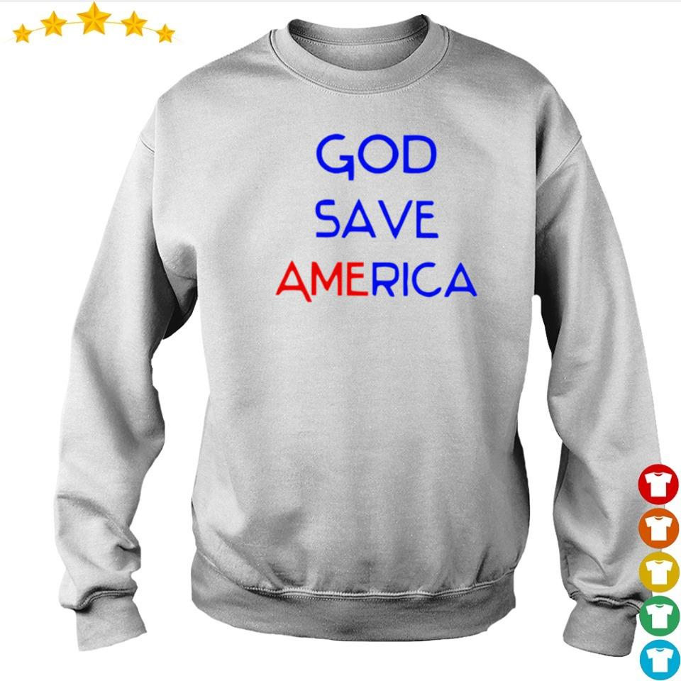 Official God save America s sweater
