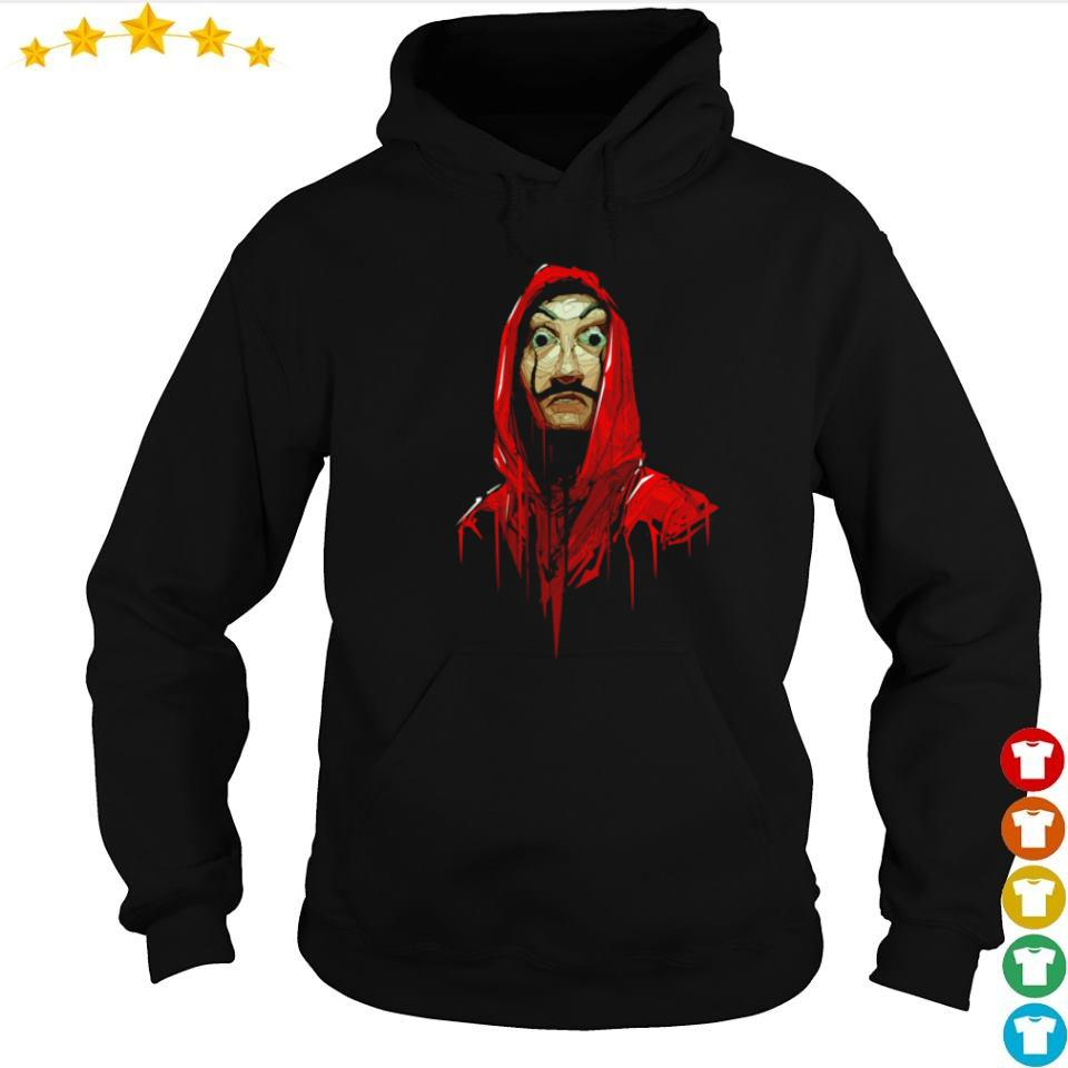 Official Money Heist dali poly costume s hoodie
