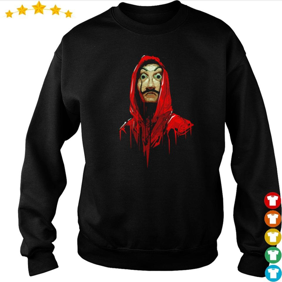 Official Money Heist dali poly costume s sweater