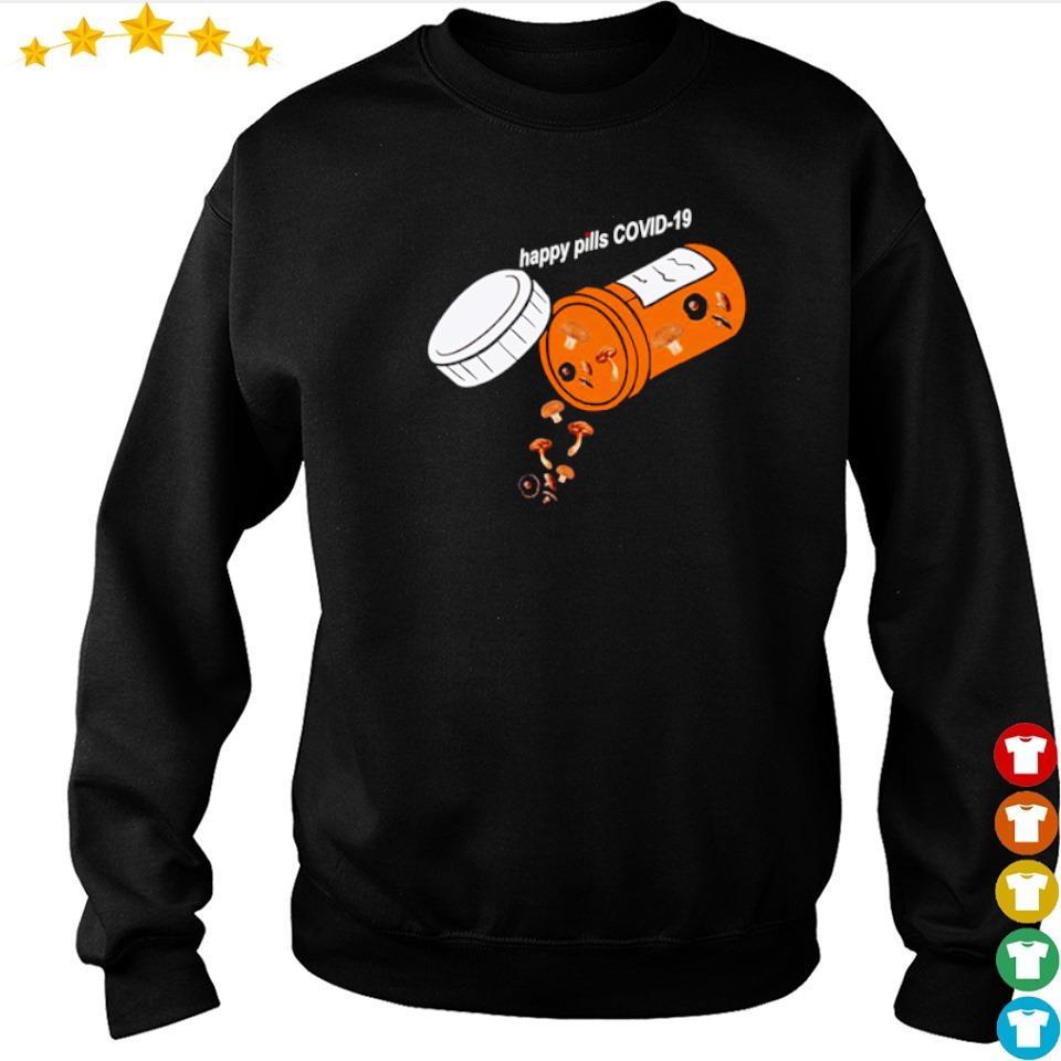 Official mushroom happy pill covid 19 s sweater