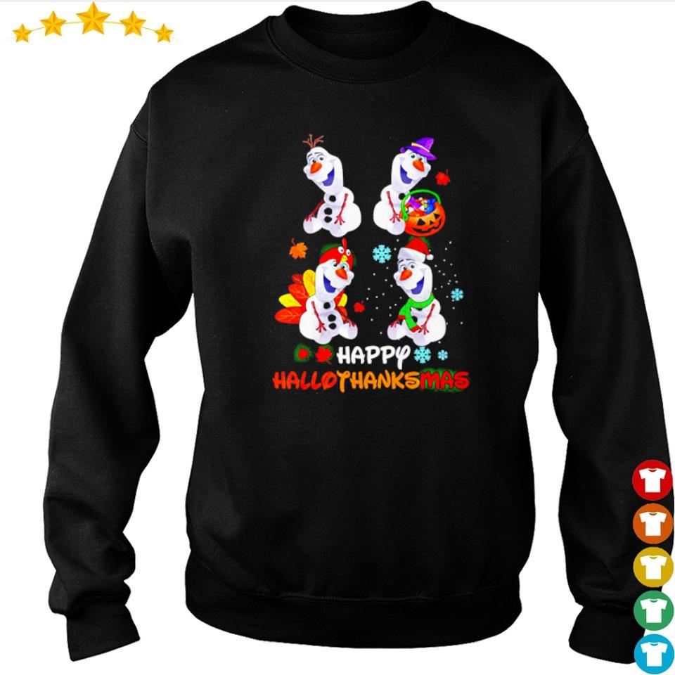 Official Olaf happy hallothanksmas s sweater