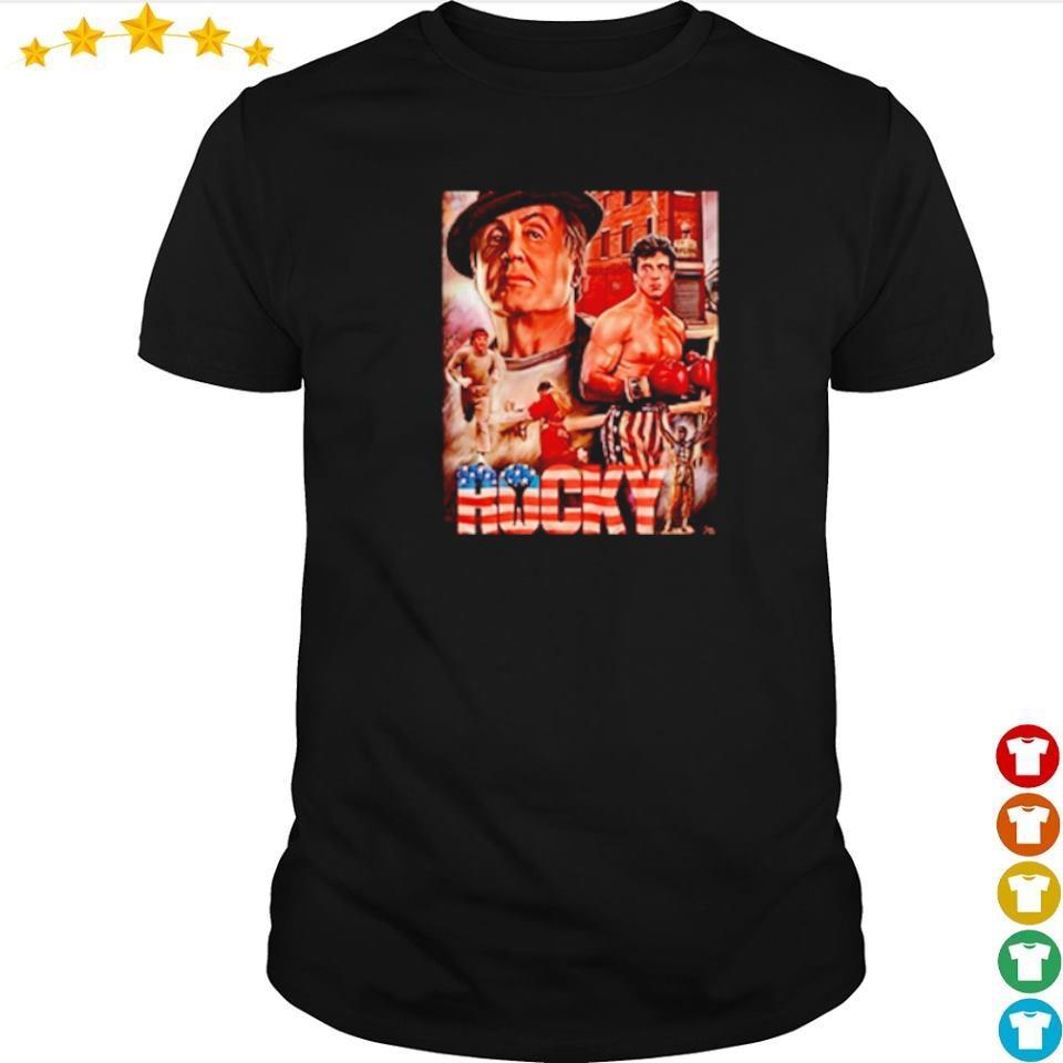 Official Rocky Balboa movie shirt