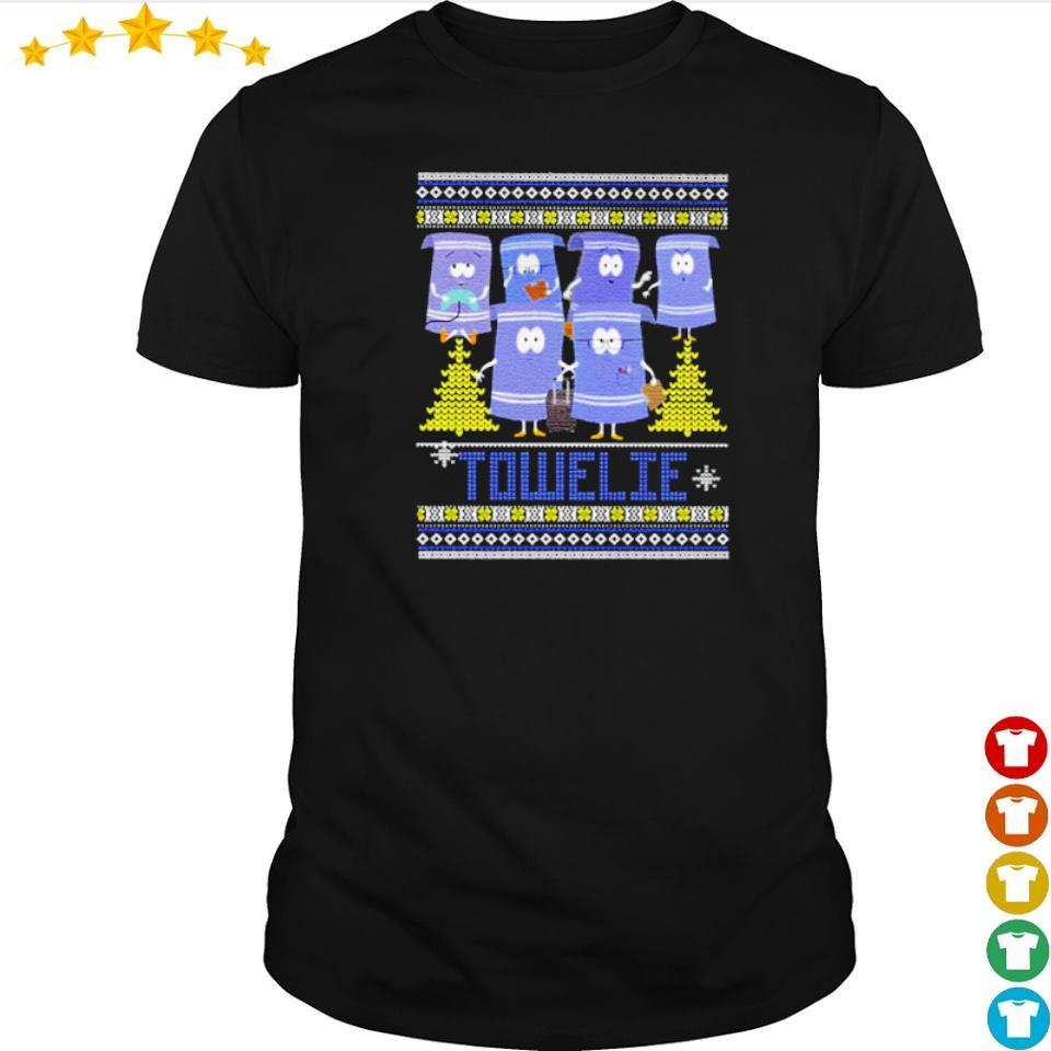 Official towelie merry Christmas shirt