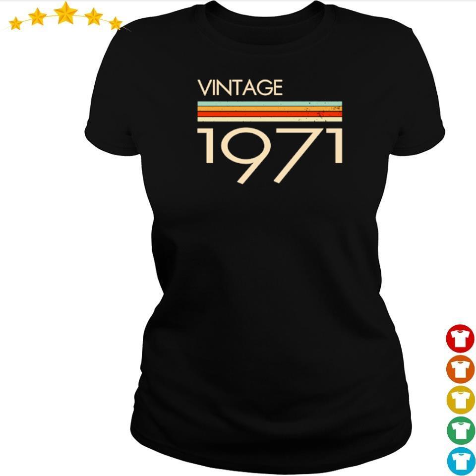 Official vintage 1971 s ladies tee