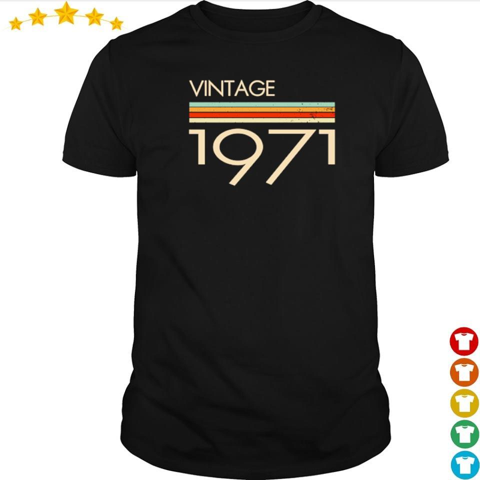Official vintage 1971 shirt
