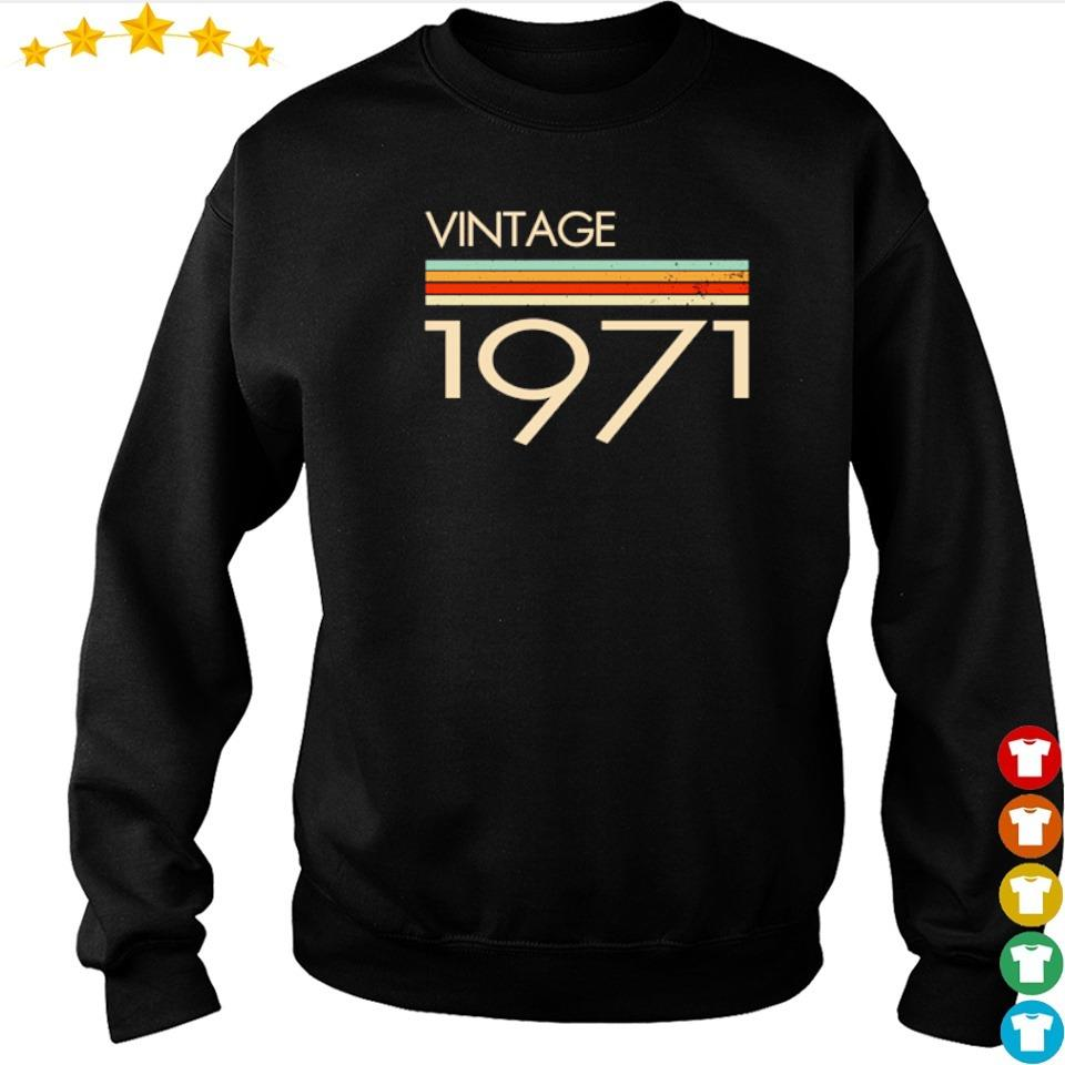 Official vintage 1971 s sweater
