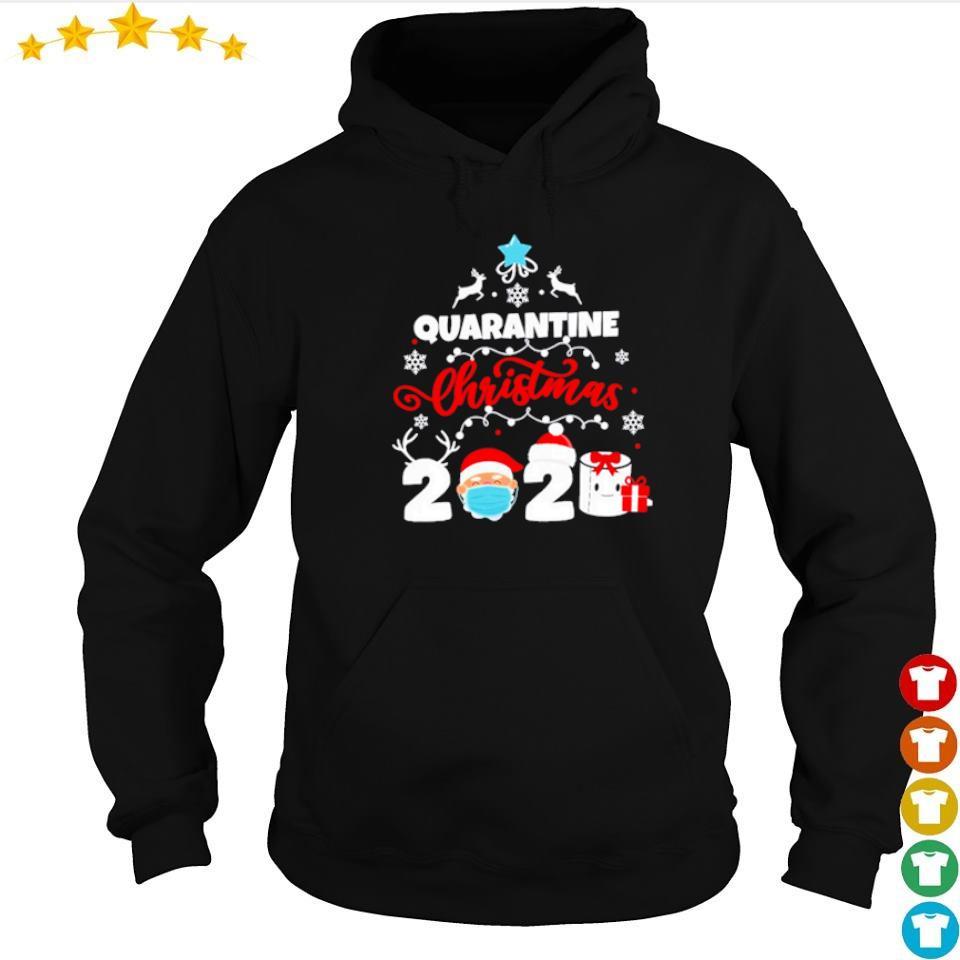 Quarantine merry Christmas 2020 s hoodie