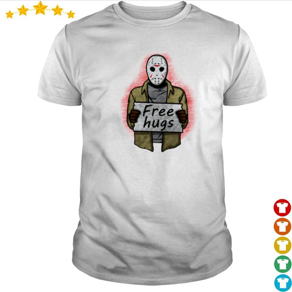 Scary Jackson Voorhees free hugs shirt