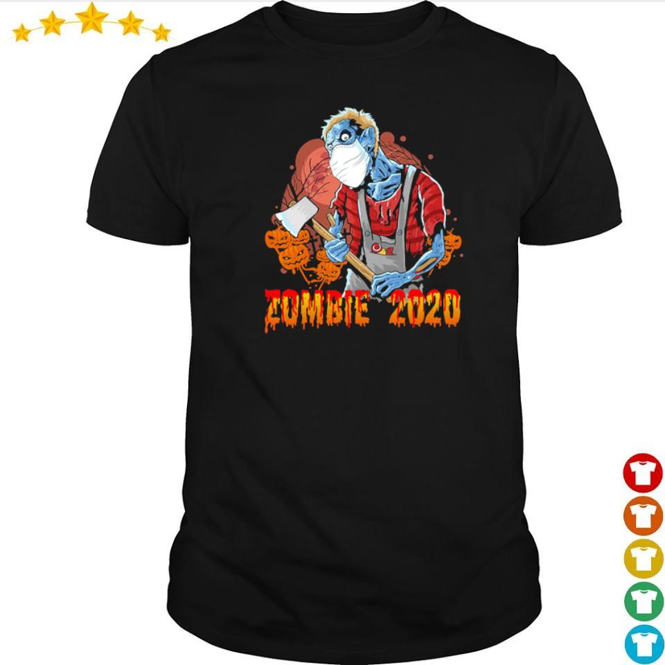 Scary zombie 2020 happy Halloween shirt