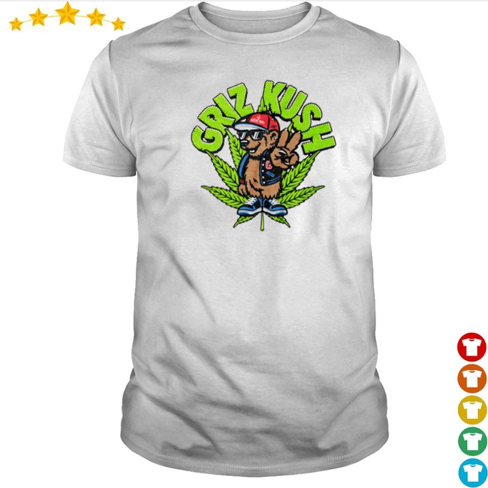 Squirrel smoking weed griz kush shirt