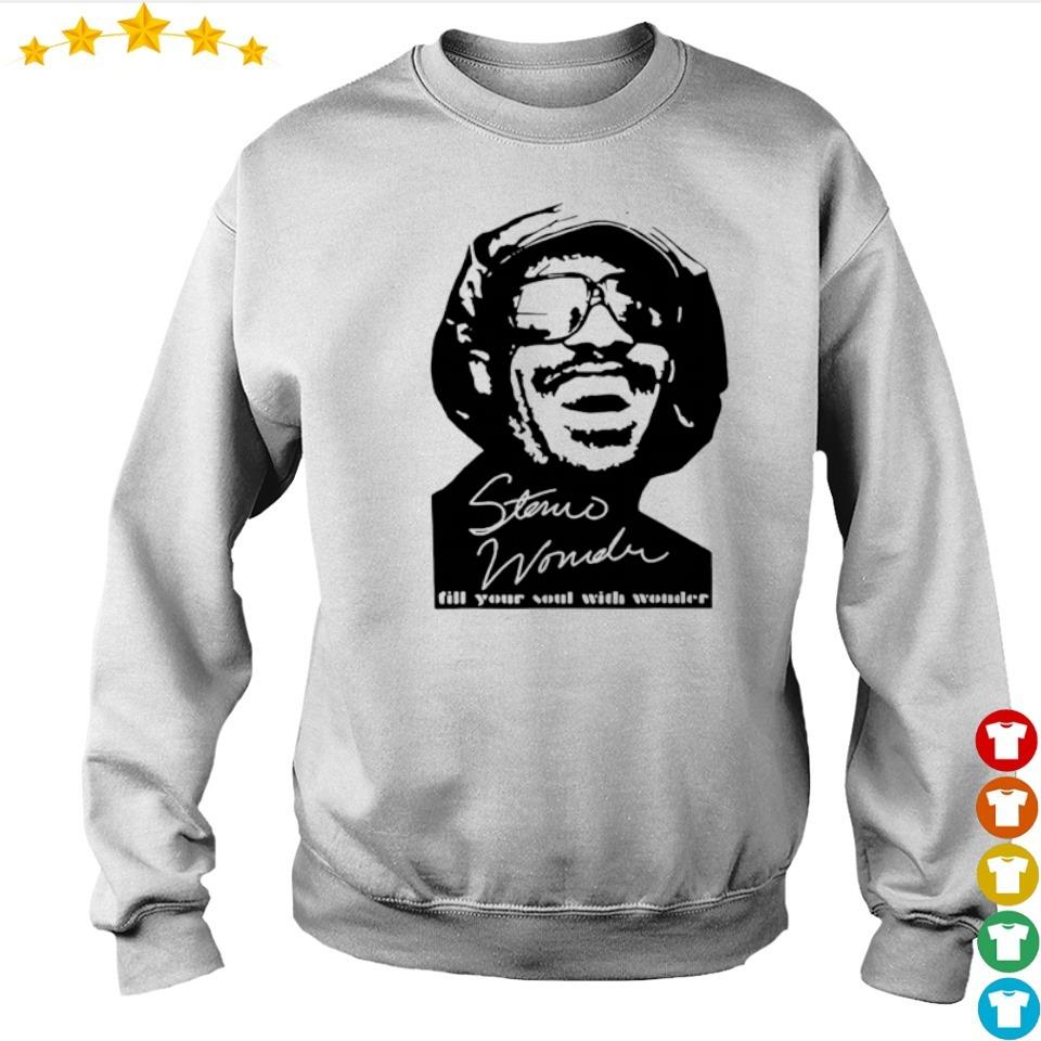 Stevie Wonder fill your soul with wonder signature s sweater