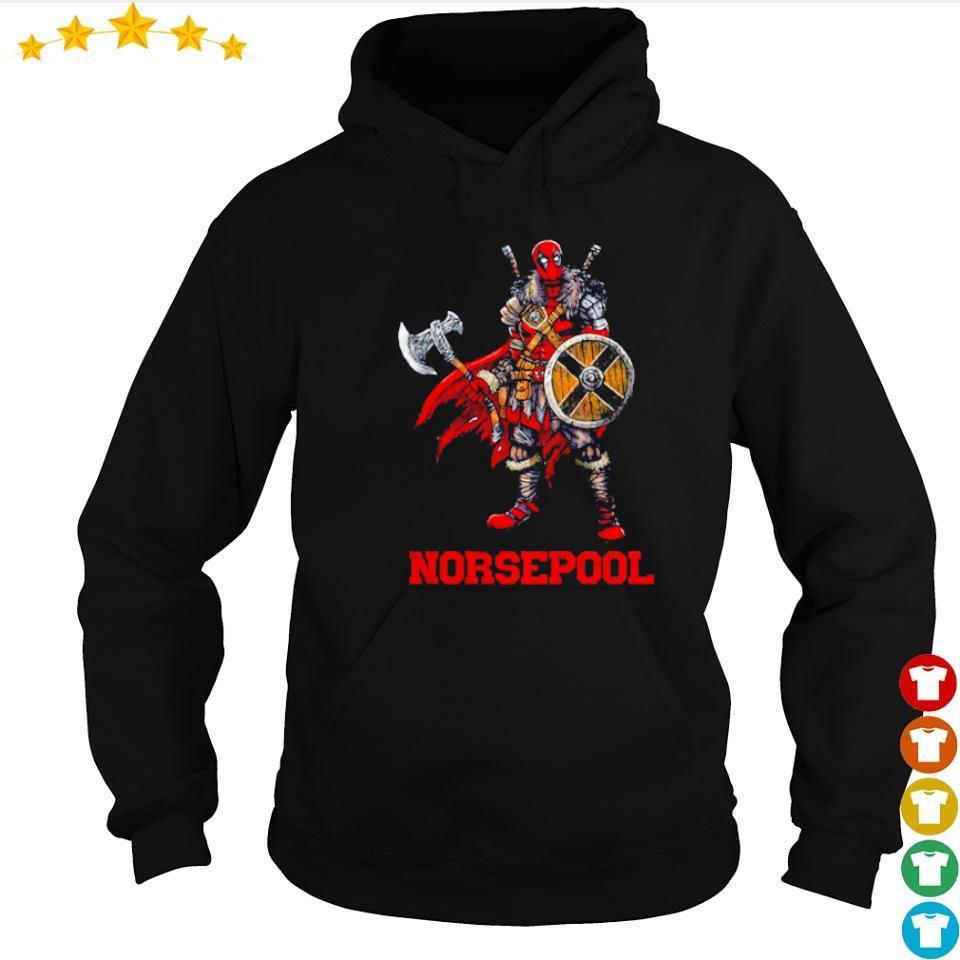 Viking warrior norsepool Deadpool s hoodie