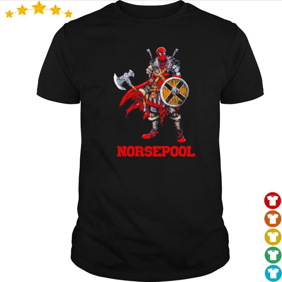 Viking warrior norsepool Deadpool shirt