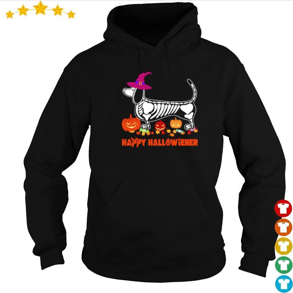 Wiener tattoo skeleton happy Hallowiener s hoodie
