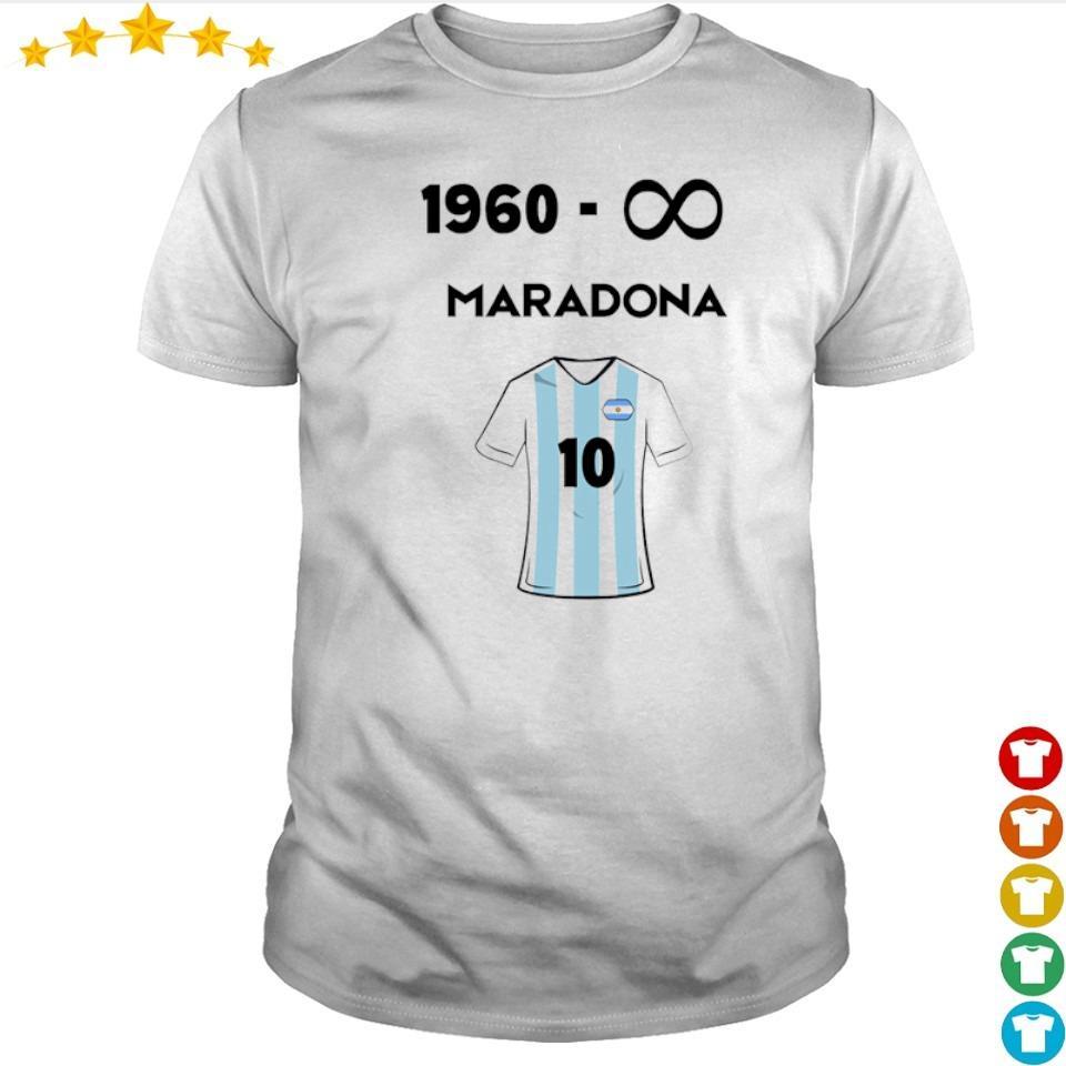1960 - forever Maradona number 10 shirt