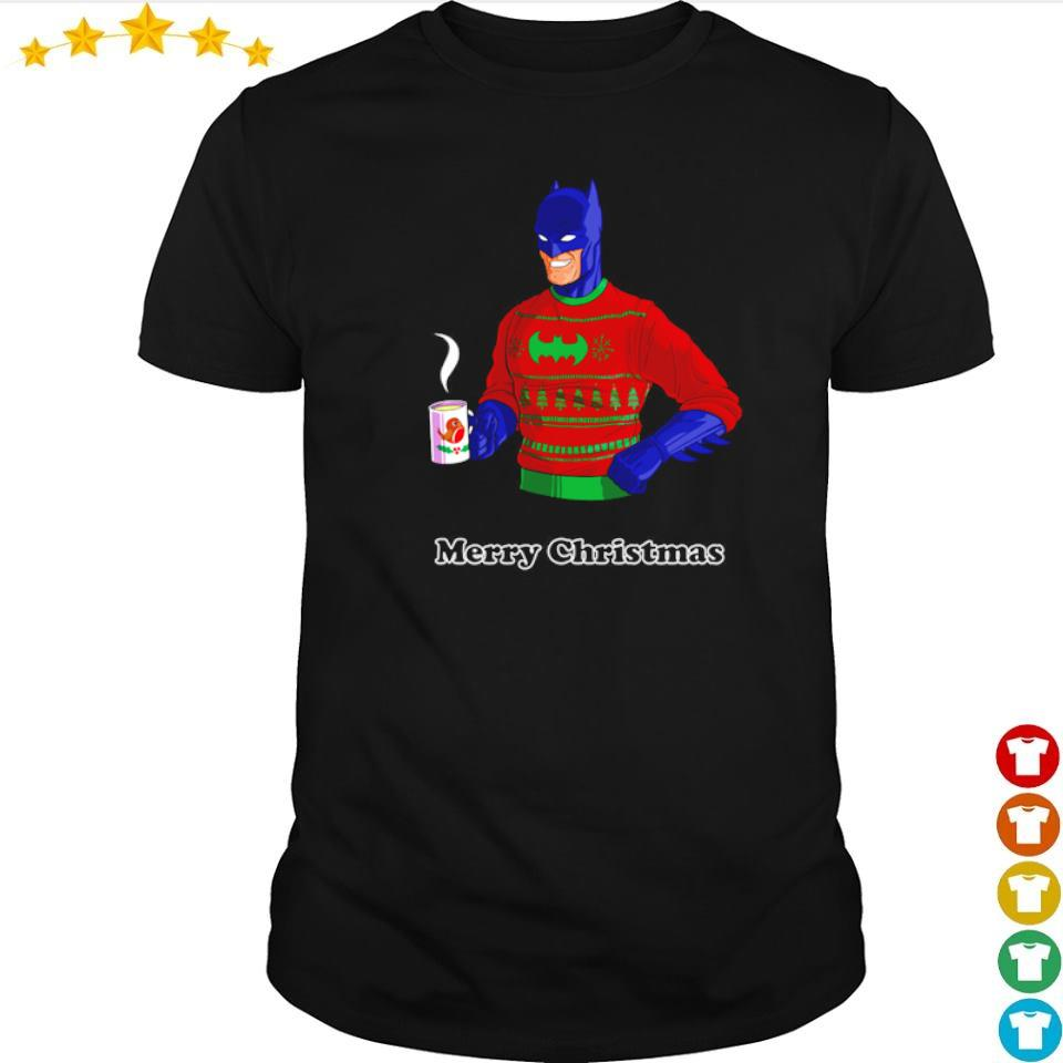 Awesome Batman merry Christmas shirt