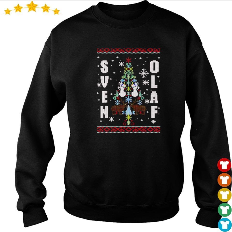 Disney Frozen sven Olaf merry Christmas sweater