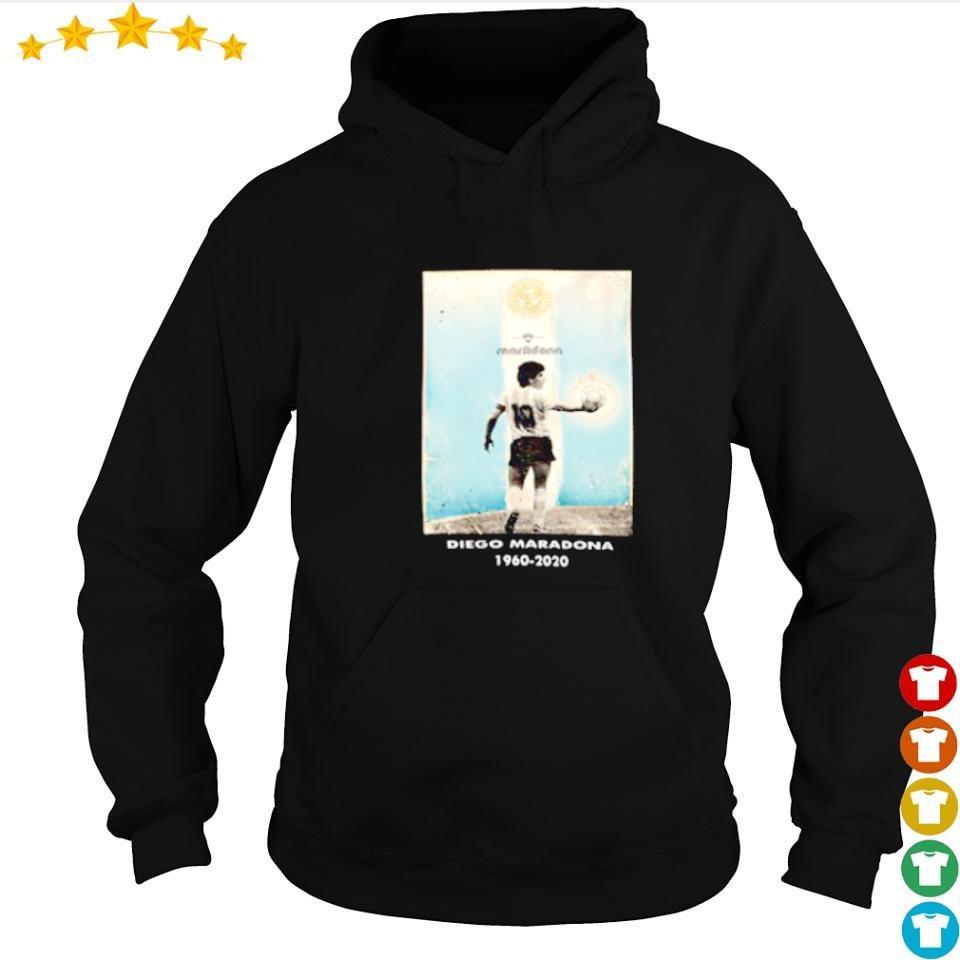 Goodbye Diego Maradona 1960 2020 number 10 s hoodie