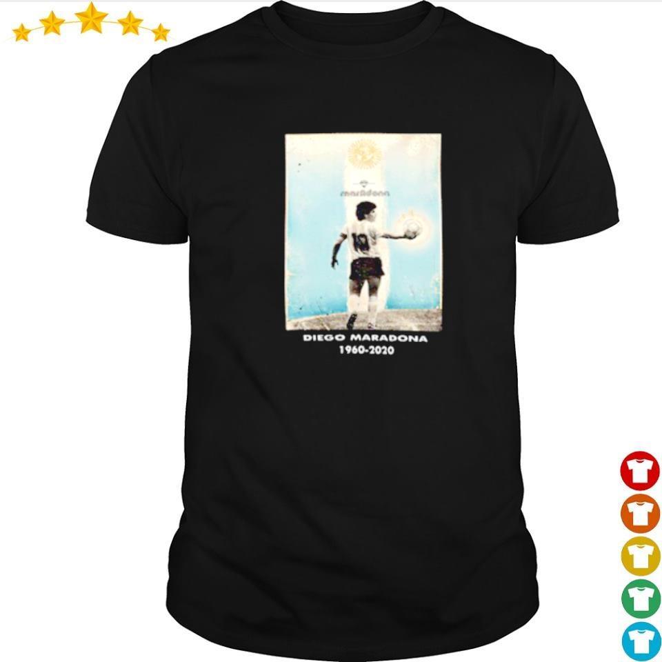 Goodbye Diego Maradona 1960 2020 number 10 shirt