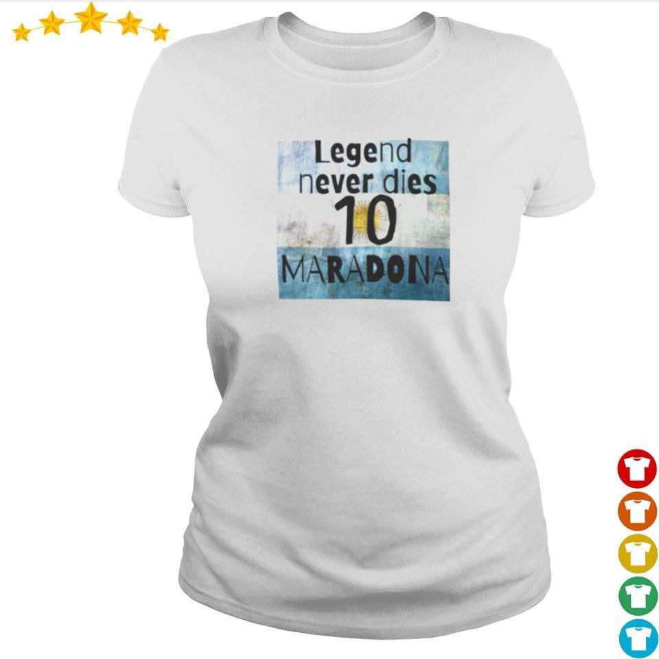 Legend never dies Maradona 10 s ladies