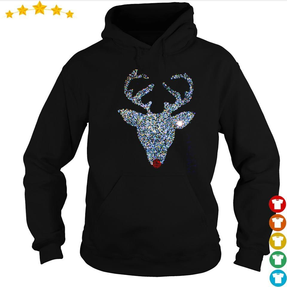 Official diamonds reindeer art merry Christmas sweater hoodie
