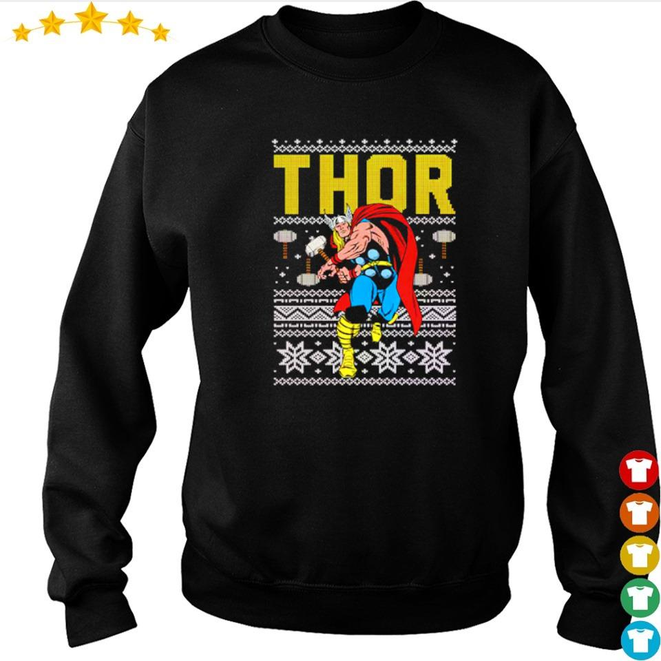 Official Marvel Thor merry Christmas 2020 sweater