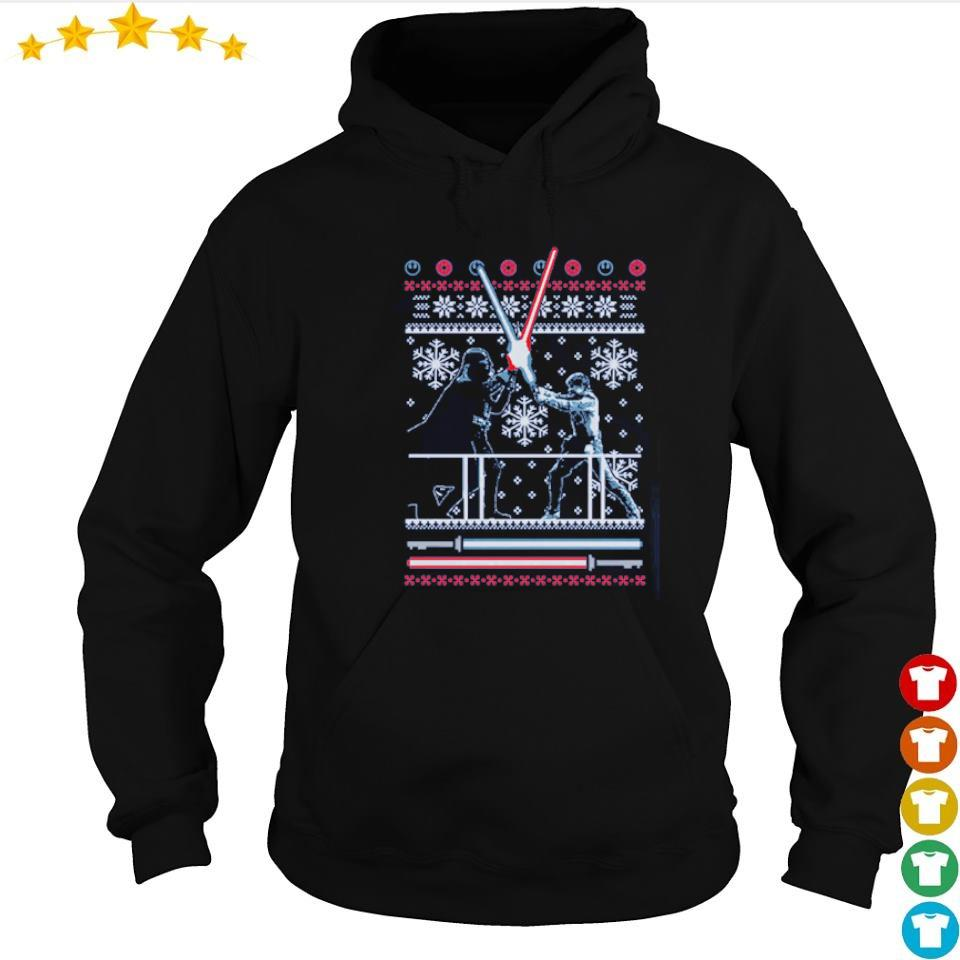 Official Star Wars duel merry Christmas sweater hoodie