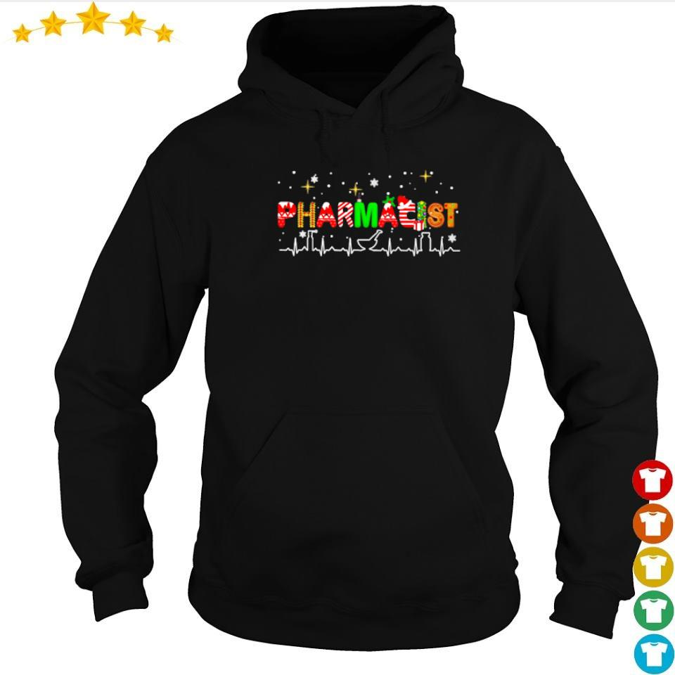 Pharmacist life happy Christmas sweater hoodie