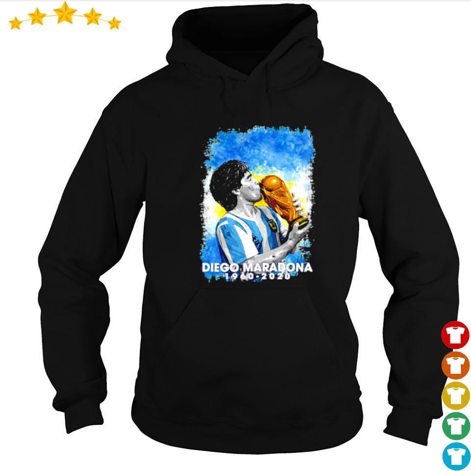 RIP Diego Maradona 1960 2020 art s hoodie
