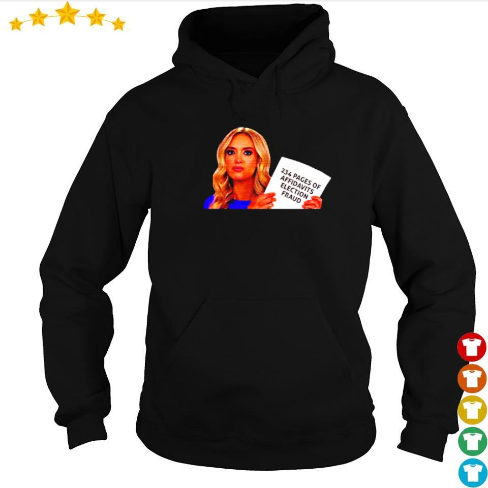 Secretary Kayleigh 234 pages of affidavits election fraud s hoodie