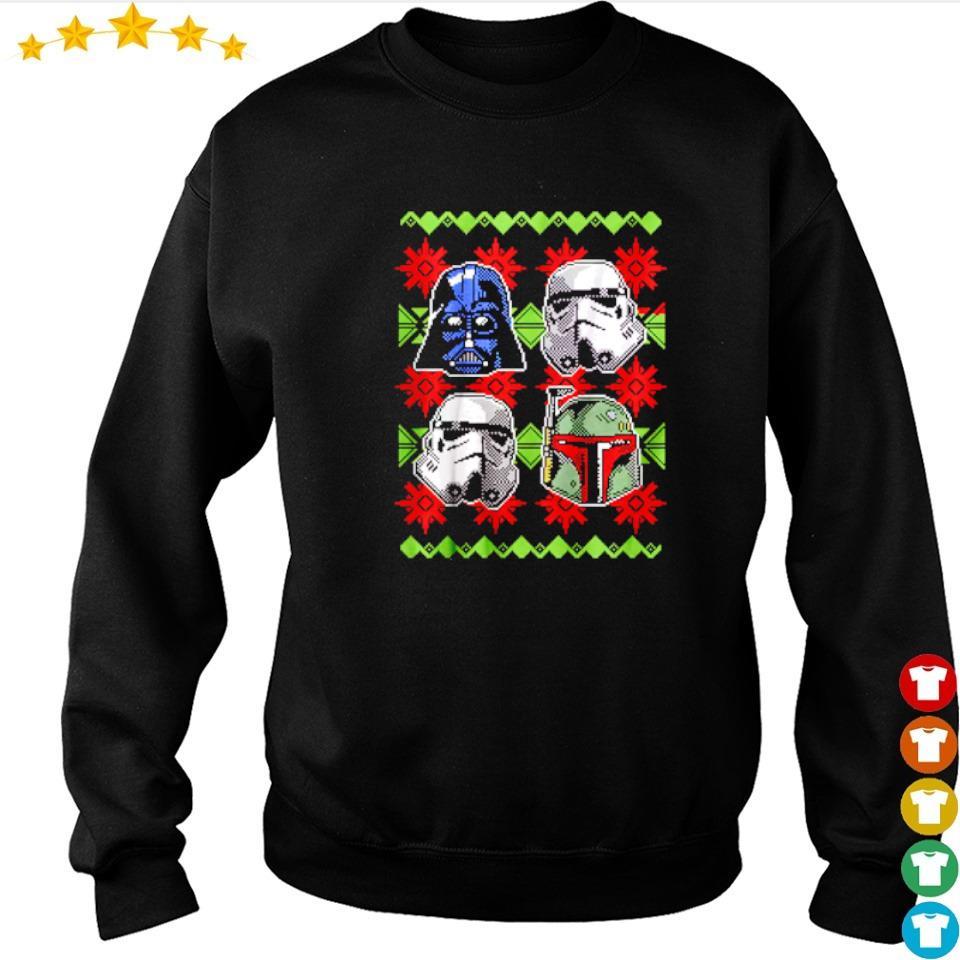 Star Wars empire helmets merry Christmas 2020 sweater
