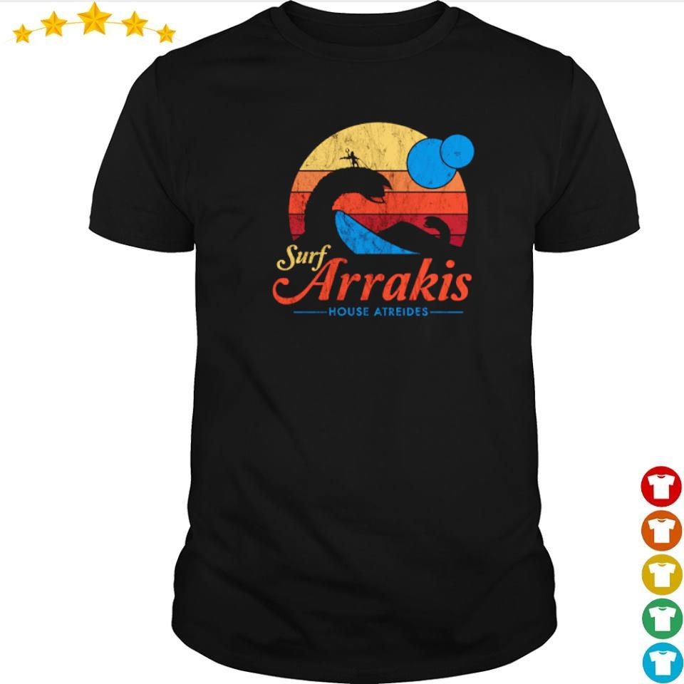 Surf arrakis house atreides shirt