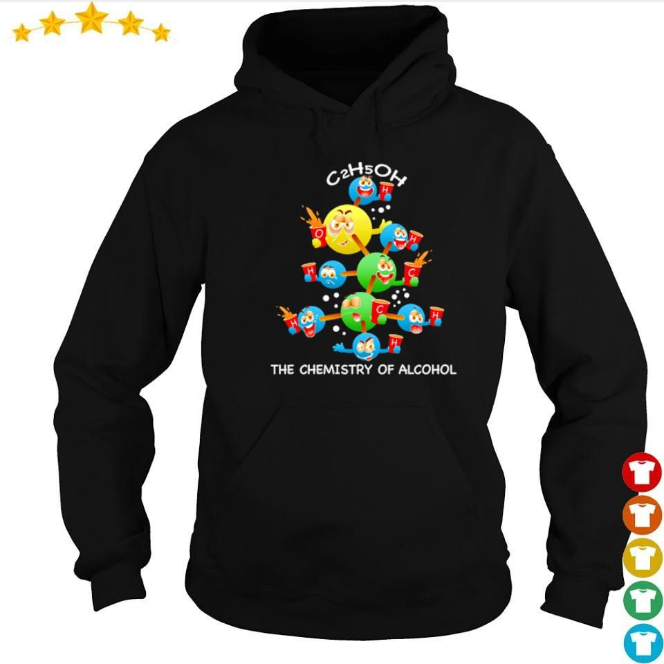 C2h5oh the chemistry of alcohol merry Christmas sweater hoodie