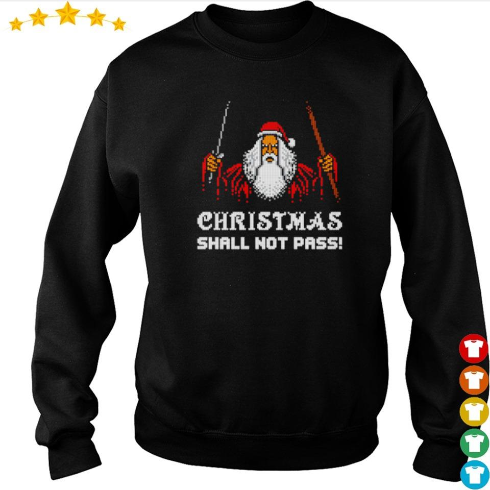 Dumbledore Christmas shall not pass sweater