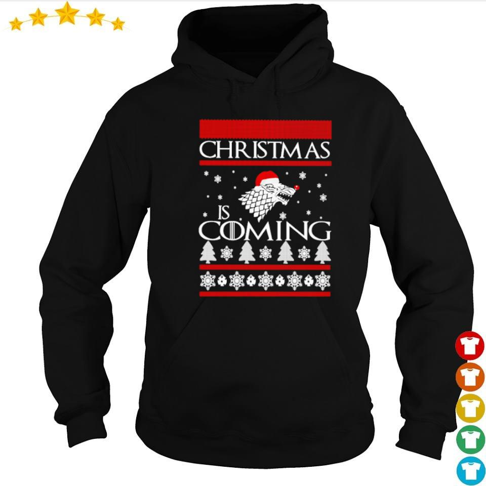 Game of Thrones Christmas is coming sweater hoodie