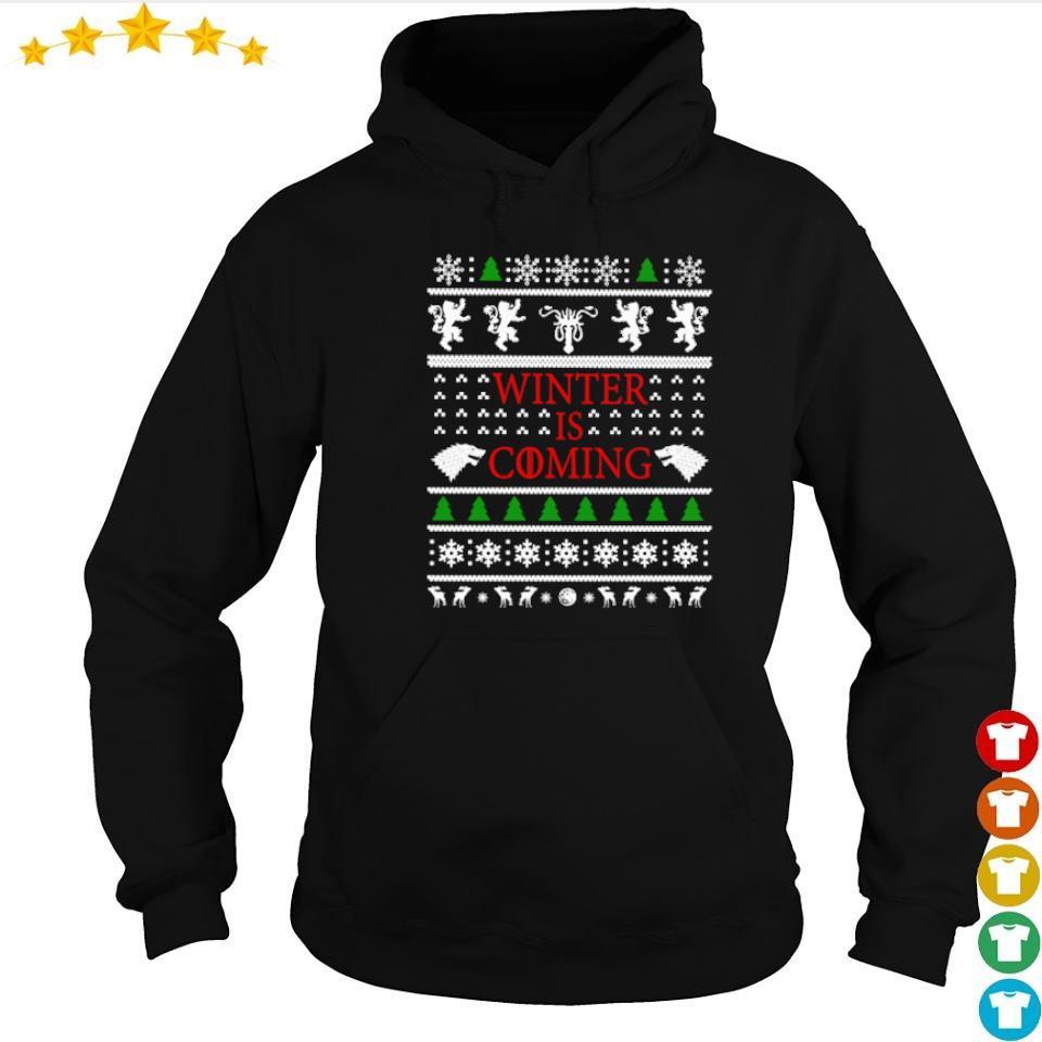 Game of Thrones winter is coming Christmas sweater hoodie