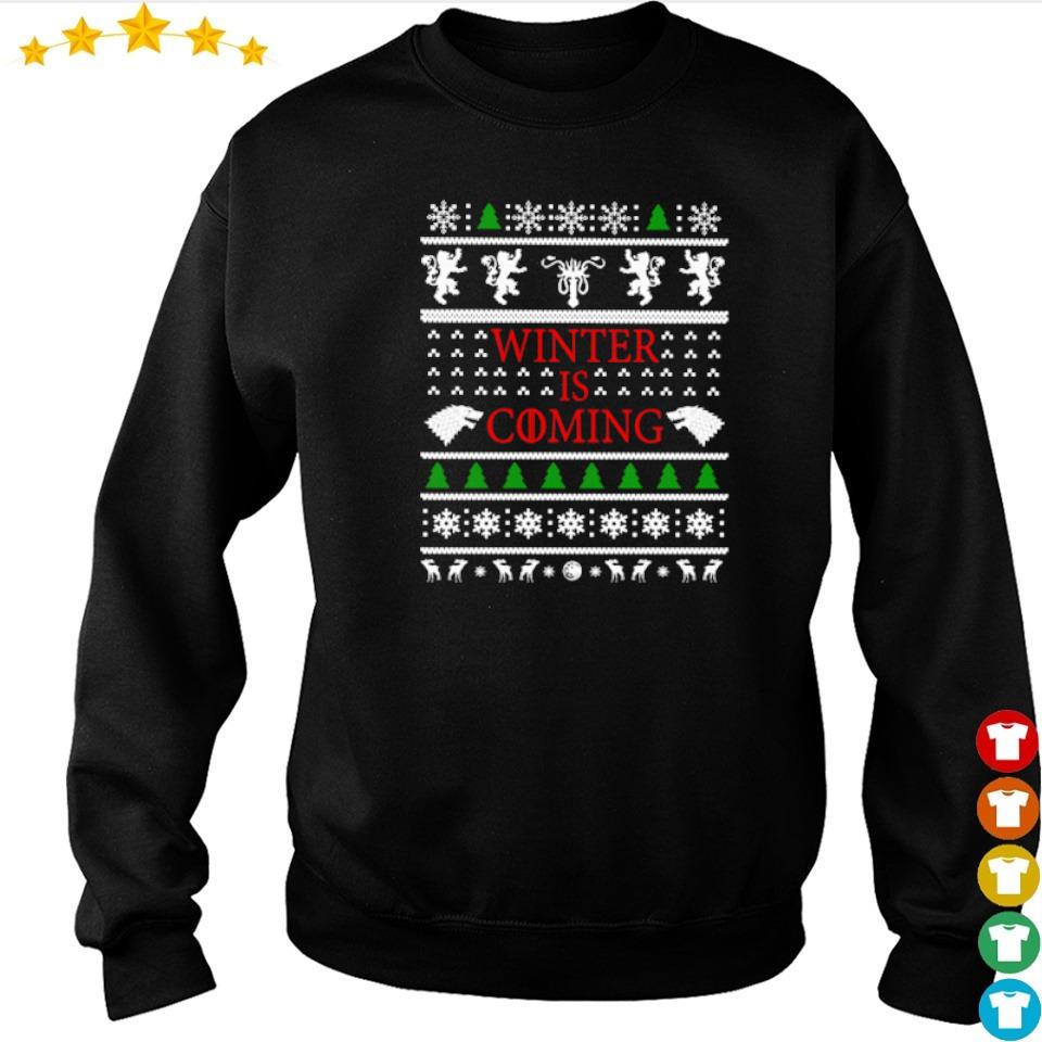 Game of Thrones winter is coming Christmas sweater