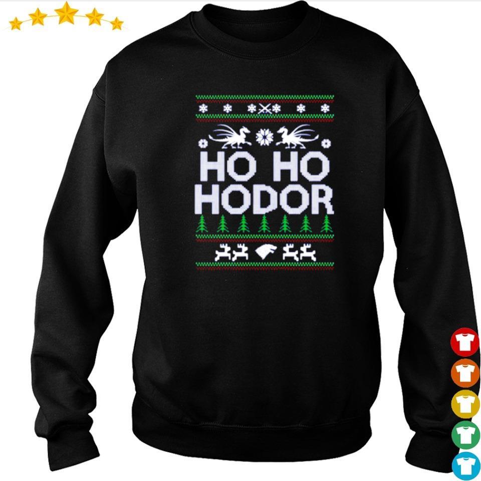 Ho ho hodor merry Christmas sweater