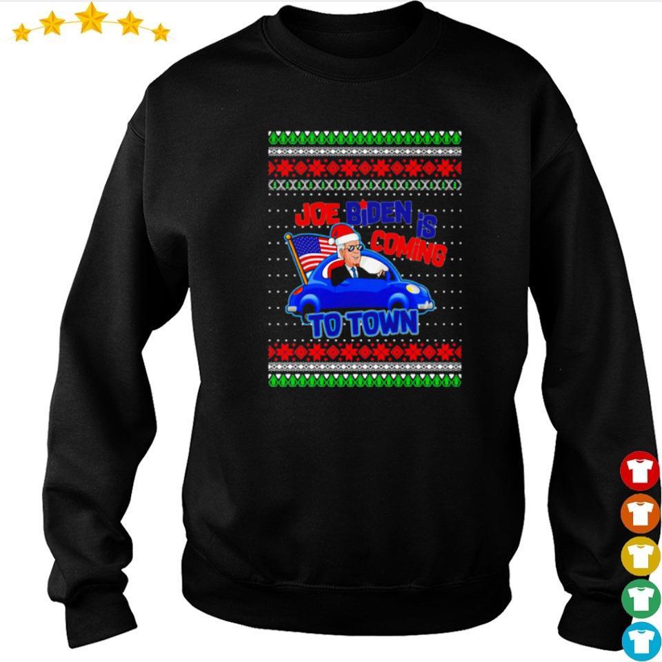 Joe Biden is coming to town merry Christmas sweater