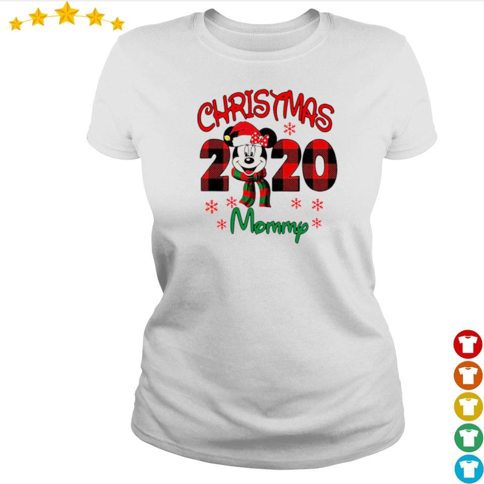 Mickey Mouse mommy merry Christmas 2020 sweater ladies