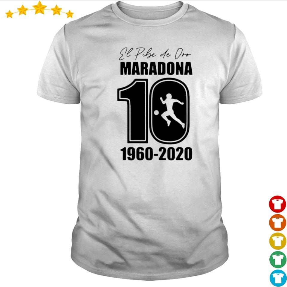 RIP El Diego Maradona number 10 1960 2020 shirt