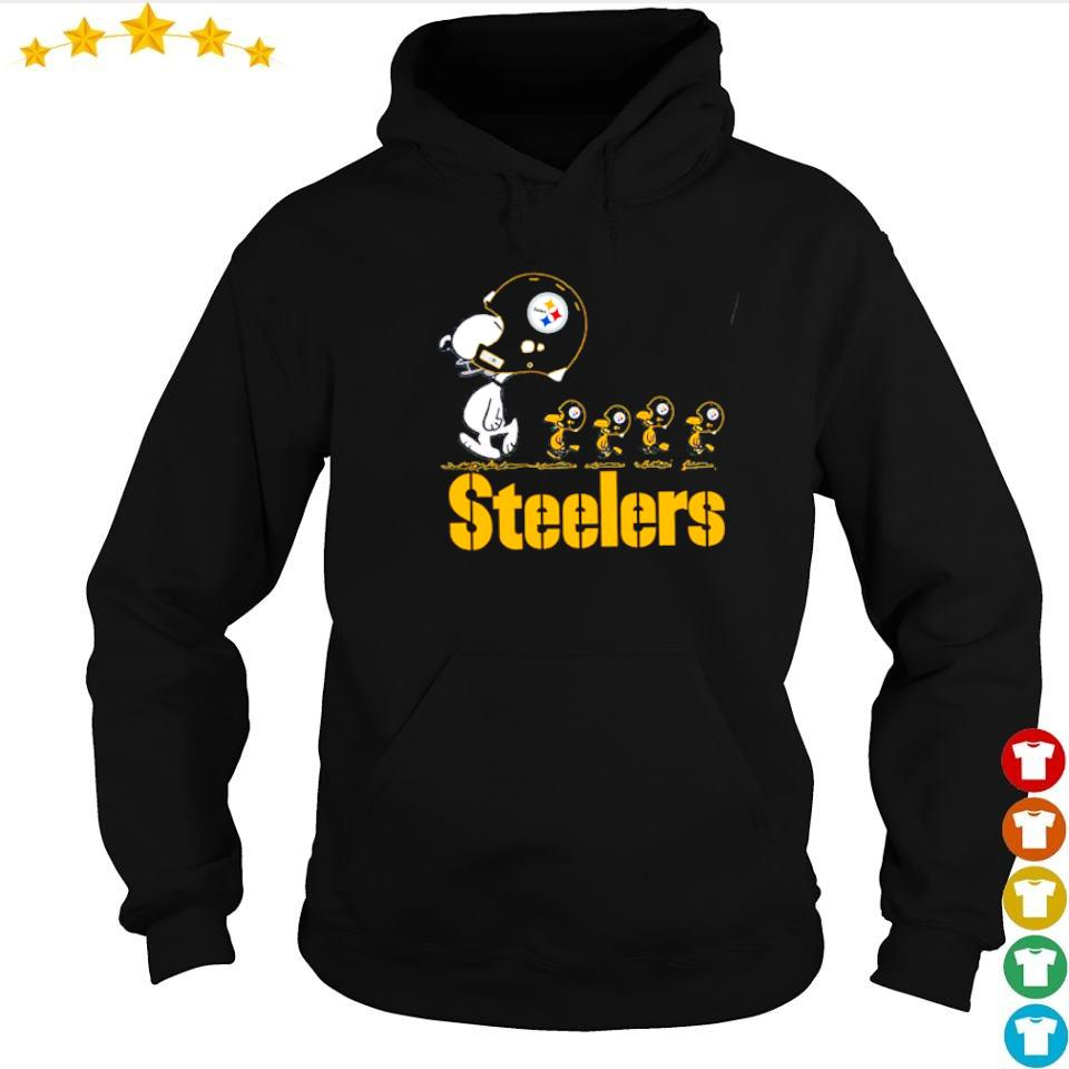 Snoopy and Woodstock Pittsburgh Steelers s hoodie