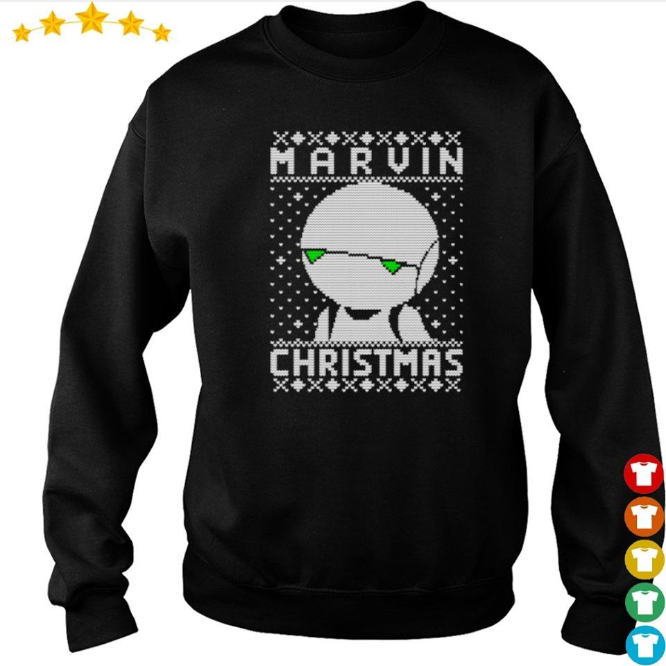Star Wars Marvin merry Christmas sweater