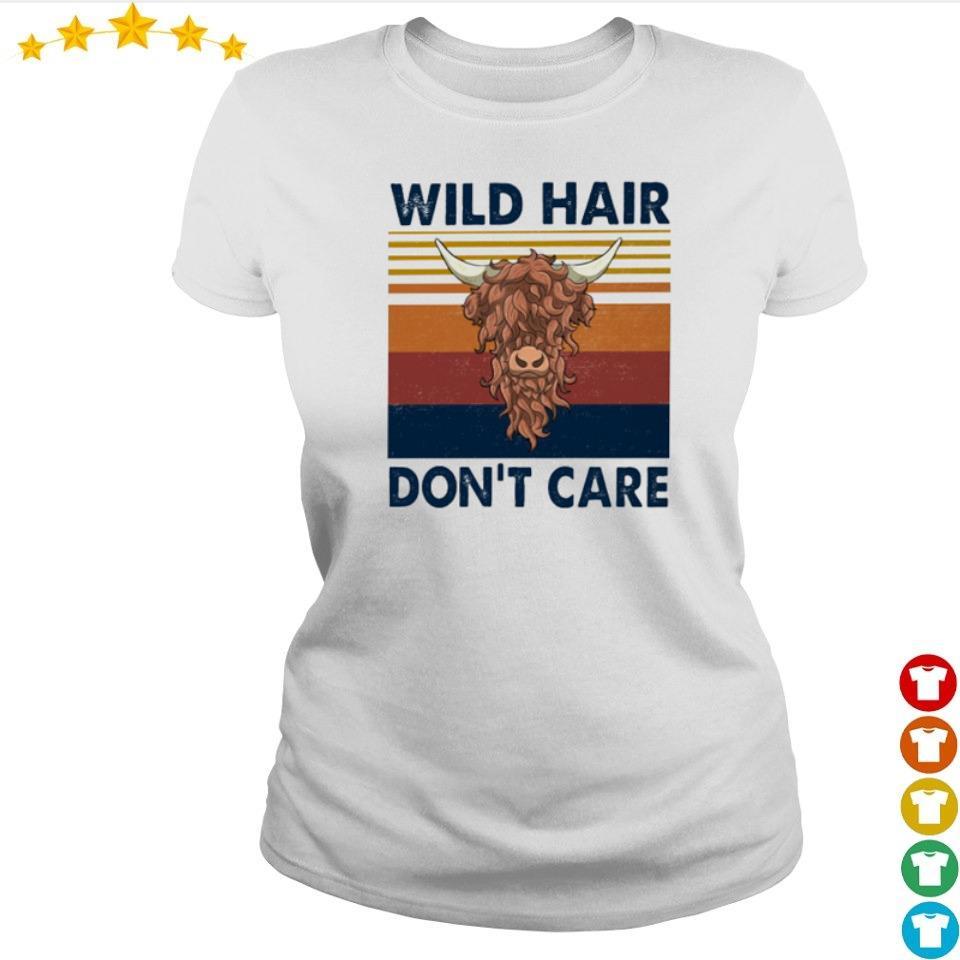 Wild hair don't care vintage s ladies