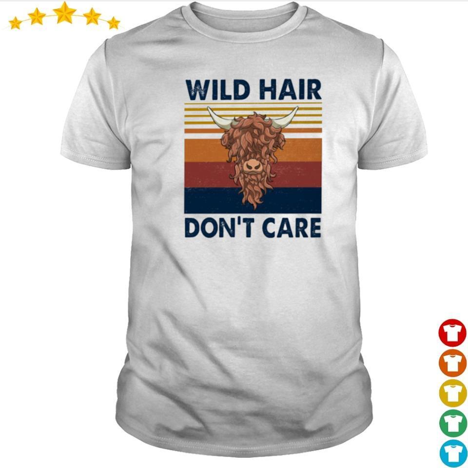 Wild hair don't care vintage shirt