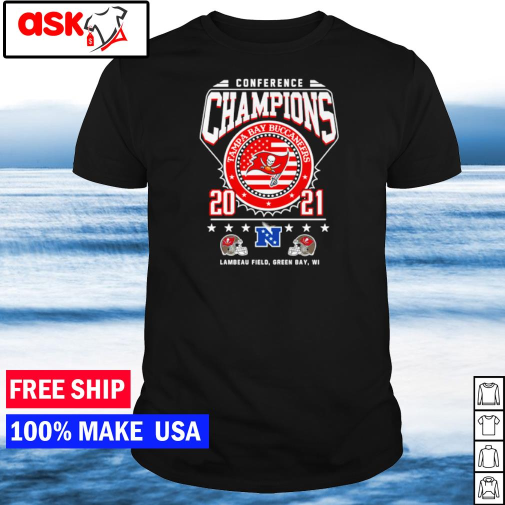 Conference Champions Tampa Bay Buccaneers 2021 shirt